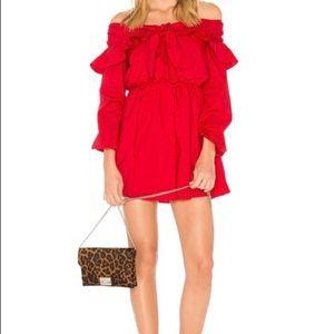Lovers + Friends REVOLVE red dress